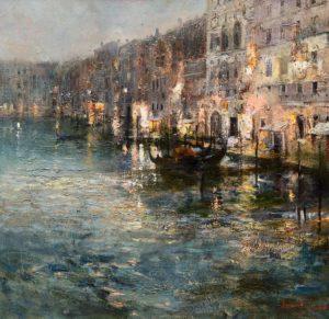 «Поздний вечер в Венеции», Ляпин Роман