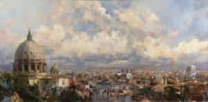 «Панорама Рима», Ляпин Роман