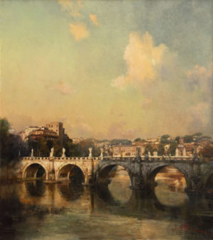«Мост Святого Ангела в Риме», Ляпин Роман