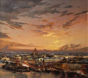 «Закат над стрелкой В.О.», Ляпин Роман