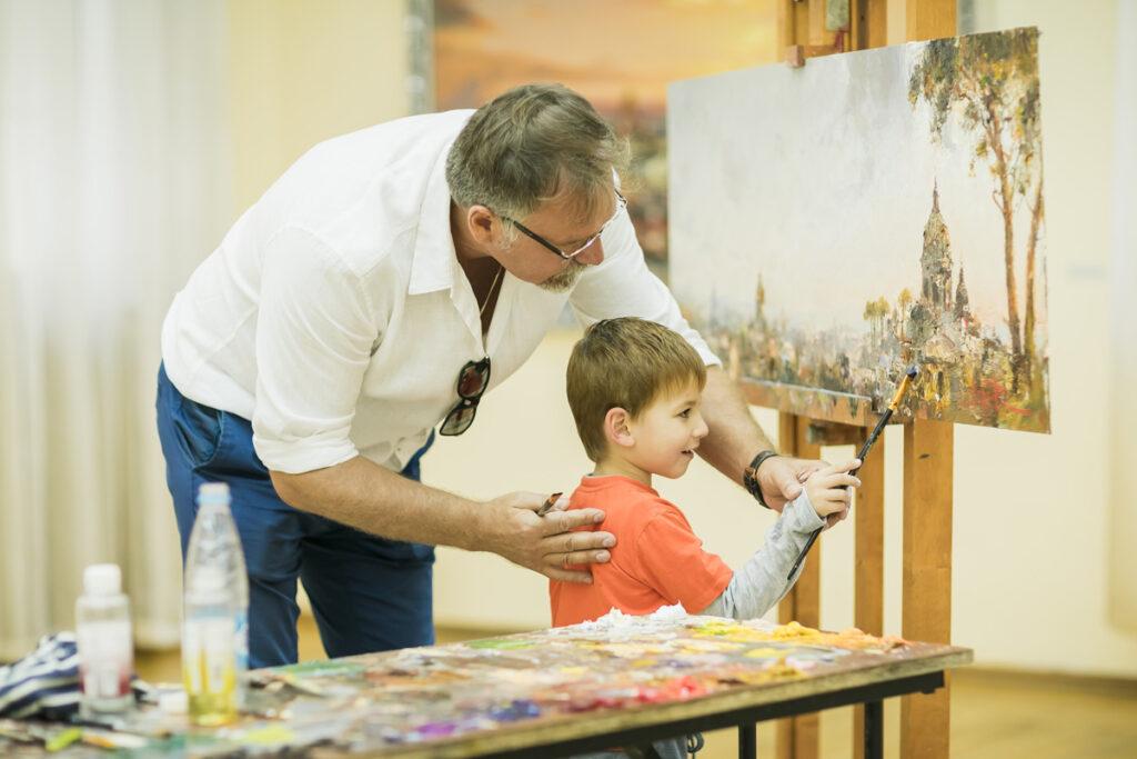 Мастер-класс Ляпина Романа по живописи
